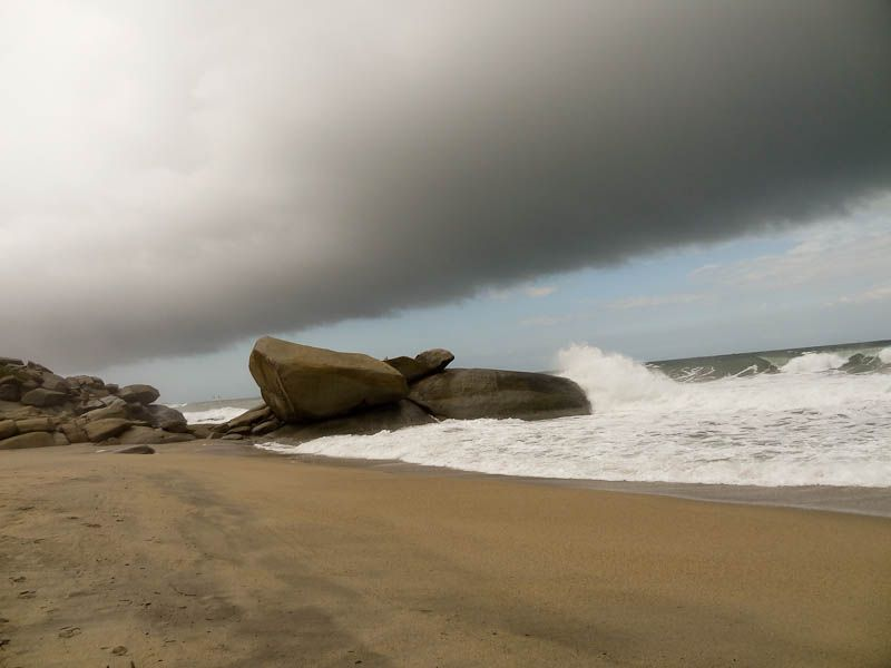 Storm Coming In - Tayrona National Park, Colombia