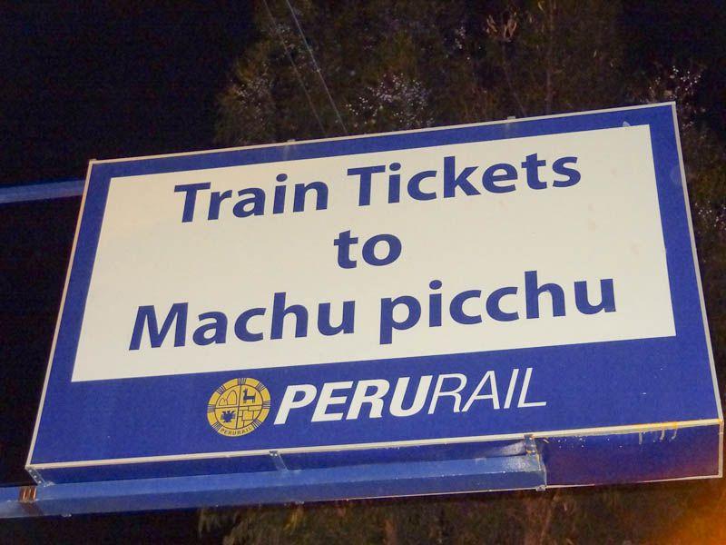 Train Tickets To Machu Pichu