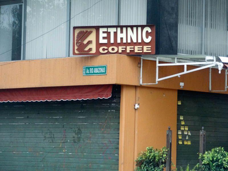 What Is Ethnic Coffee - Quito, Ecuador