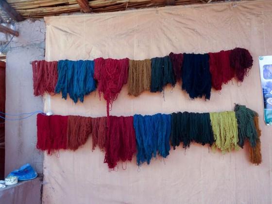 Wool Thread Already Dyed