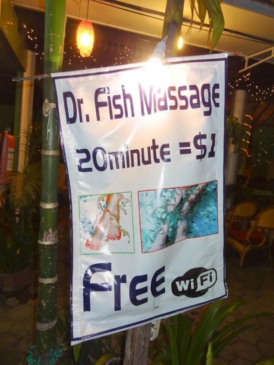 Dr. Fish Massage
