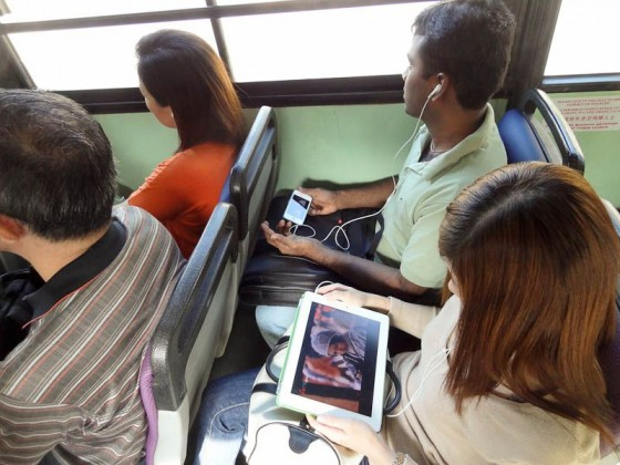 Everyone Has A Tablet Or Smart Phone