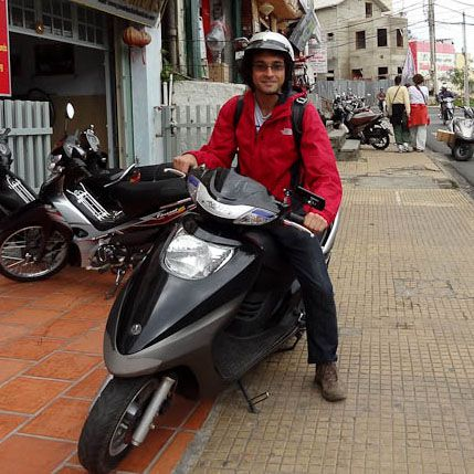 Me On My Rented Motorbike
