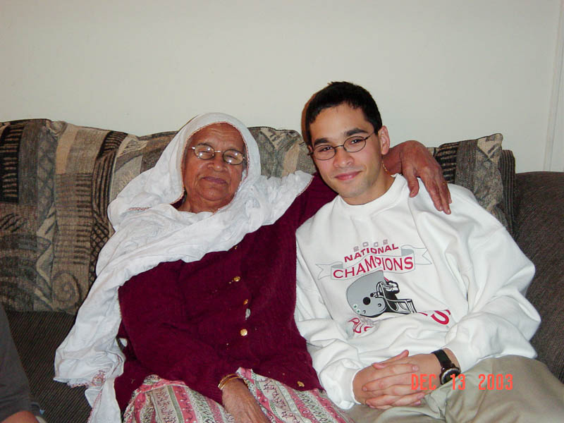 My Grandma And I In 2003