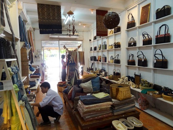 Inside The Saoban Store
