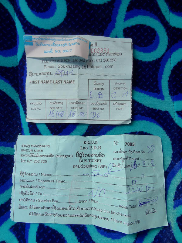 The Two Bus Tickets