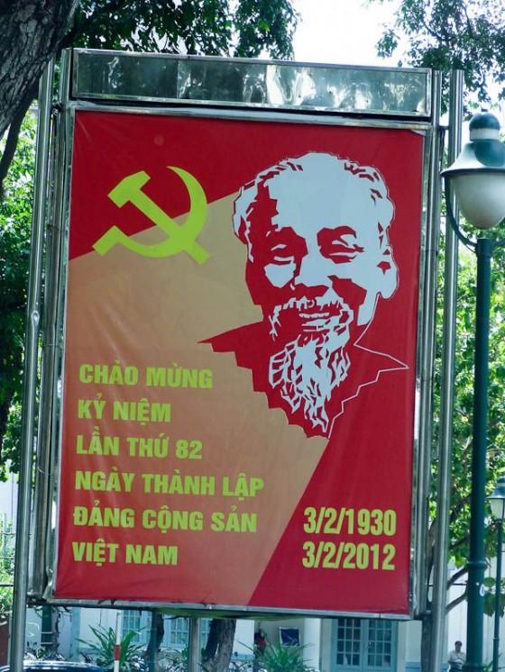 Ho Chi Minh Sign