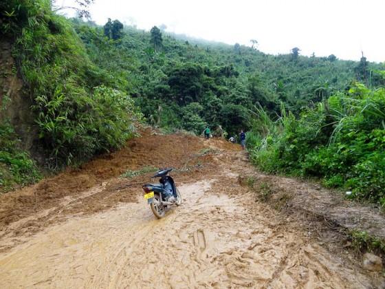 The Landslide Site
