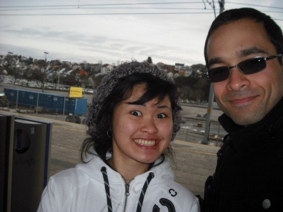 Nancy And I In Norway In 2010