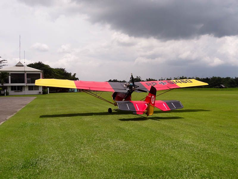 My Instructor's Plane