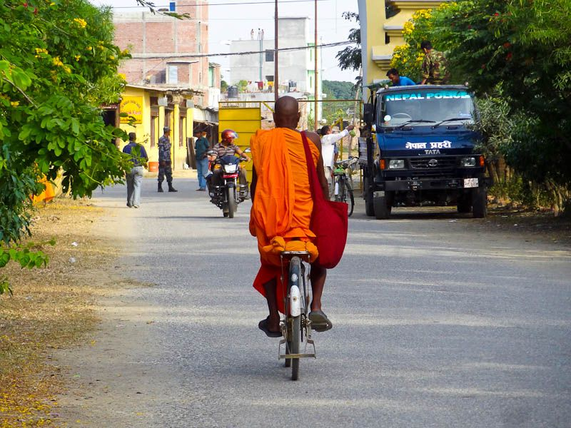 Cycling Monk