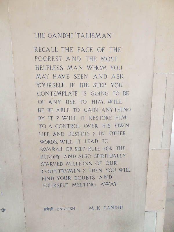 Gandhi Talisman