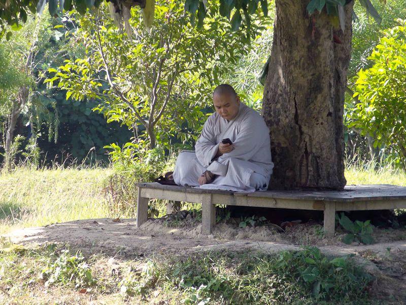 High-Tech Monk