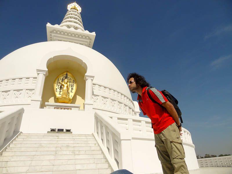 Kissing The World Peace Pagoda