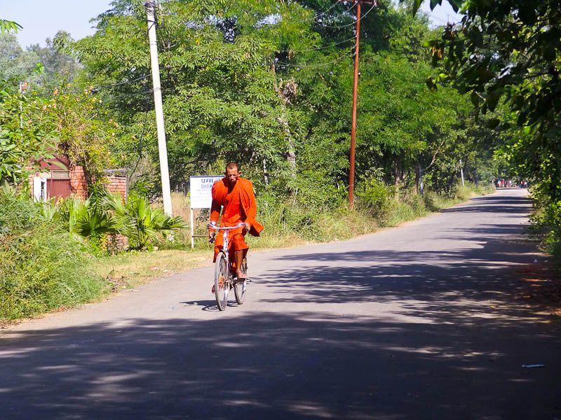 Monk On A Bike