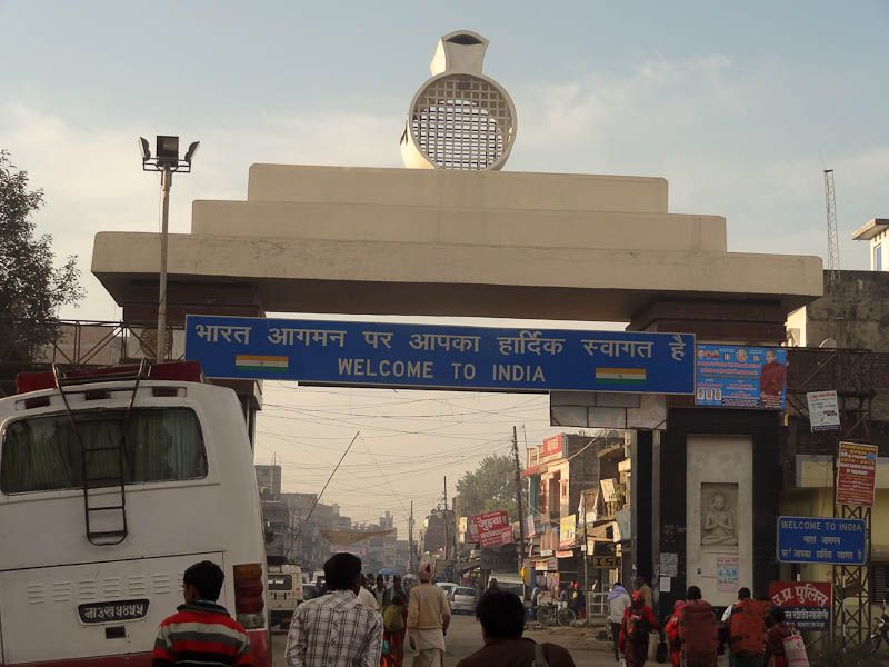 Welcome To India, Nepal/India Border