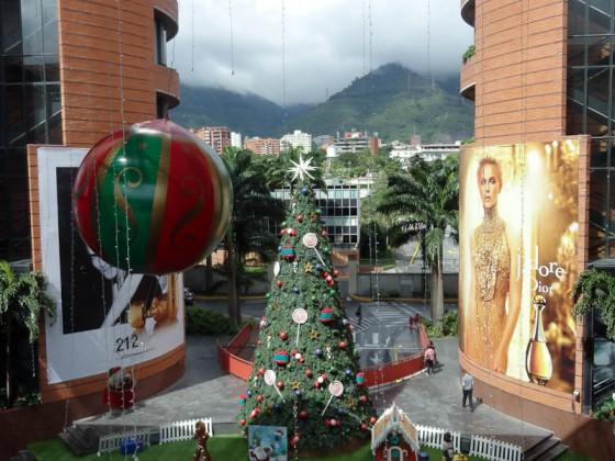 Huge Christmas Tree In Venezuela Last Year