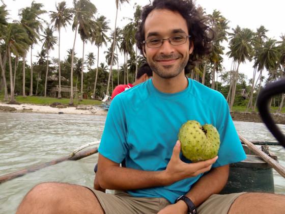 A Guanabana Shaped Like A Heart