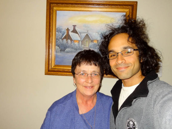 With My Mom On Christmas Day