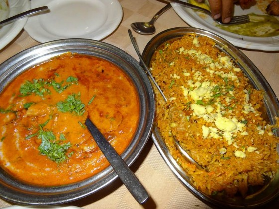 Butter Chicken And Biriyani