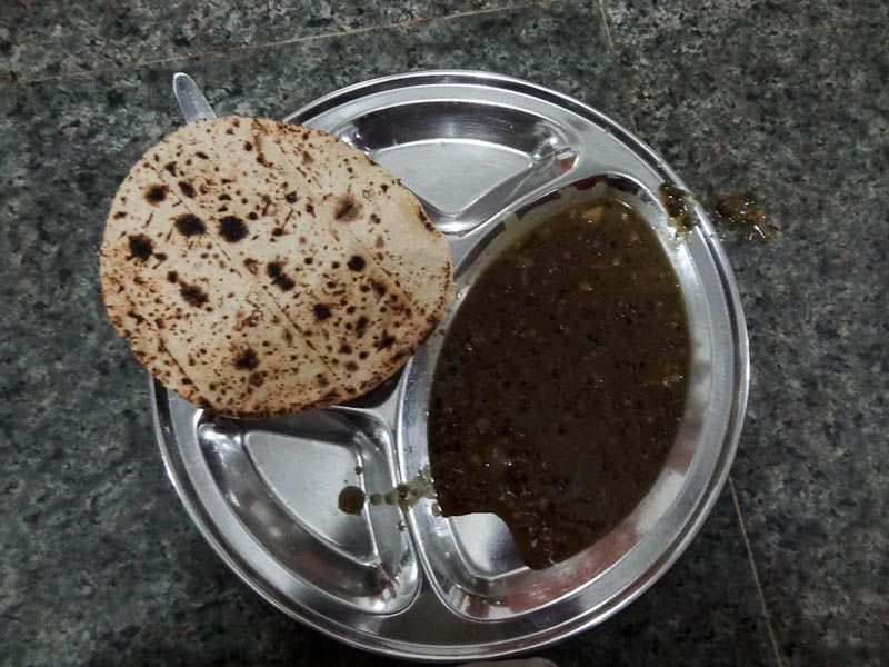 Free Meal - Dal And Chapatis