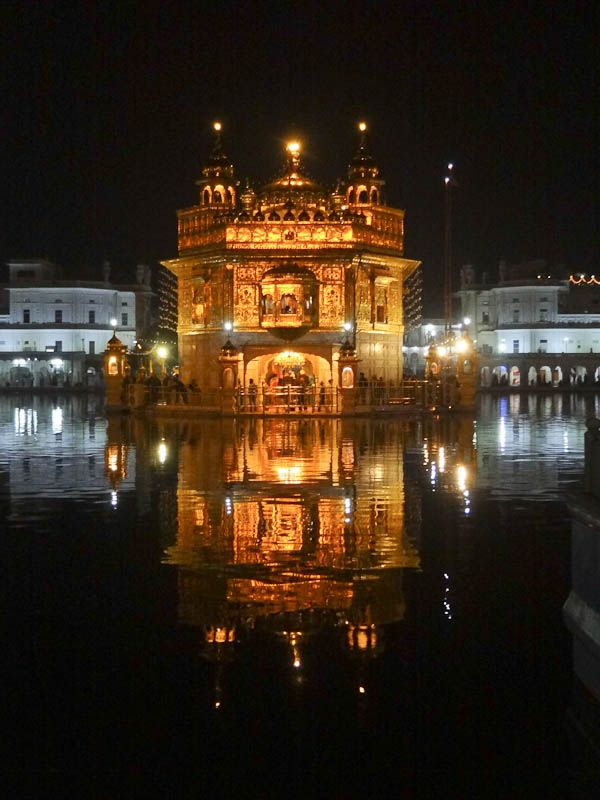 The Golden Temple Nighttime