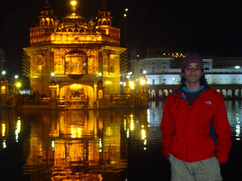 With The Golden Temple