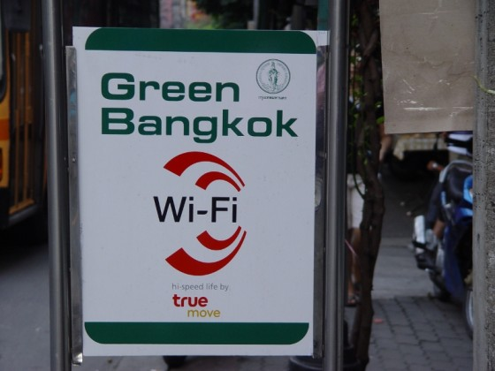 Wifi At Bangkok Bus Stops