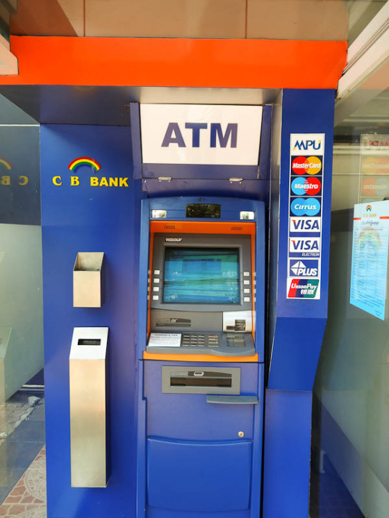 International ATM In Yangon