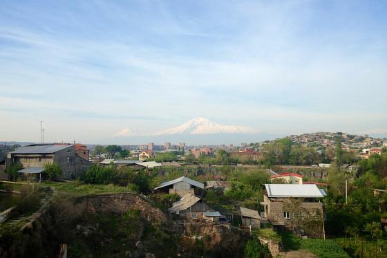 Mt Ararat From Yerevan