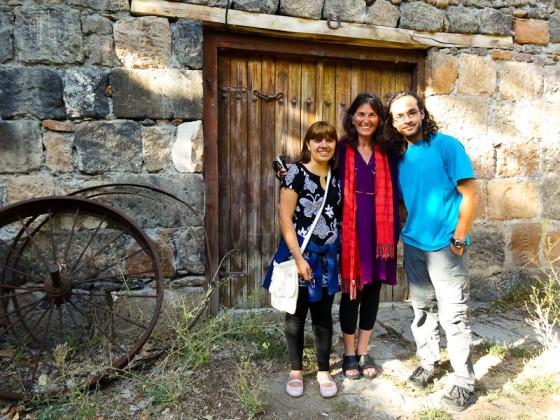 With Kristine (TEDxYerevan Organizer) and Dana (TEDxYerevan Speaker)