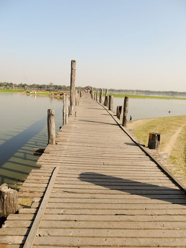 1.2km Teak Wood Bridge