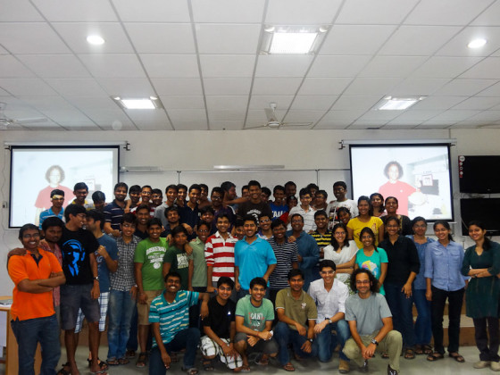 The Class Of Students At IIT Gandhinagar