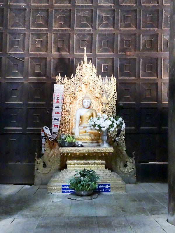 Buddha Statue Inside