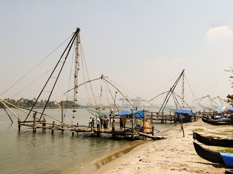 Chinese Fishing Nets In Fort Kochi