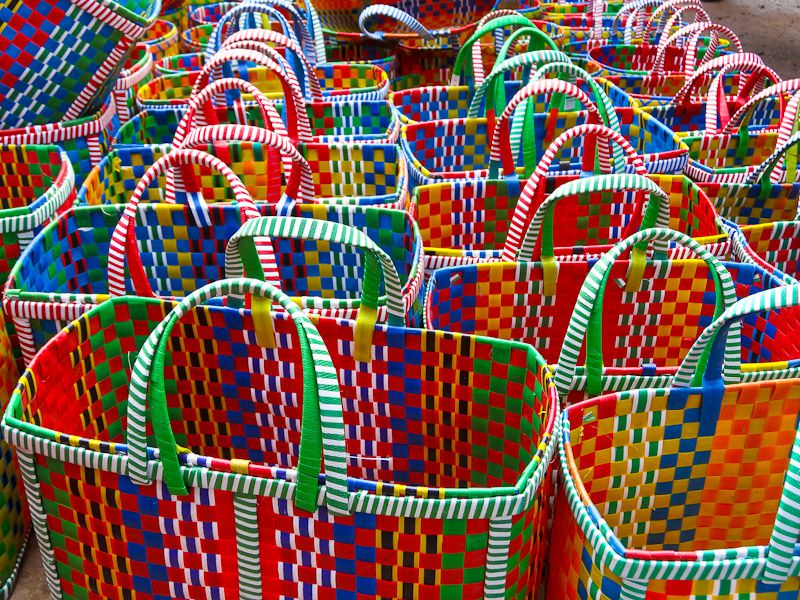 Colorful Baskets For Sale