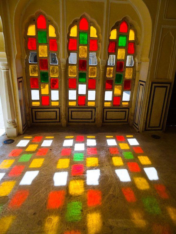 Colorful Palace Window
