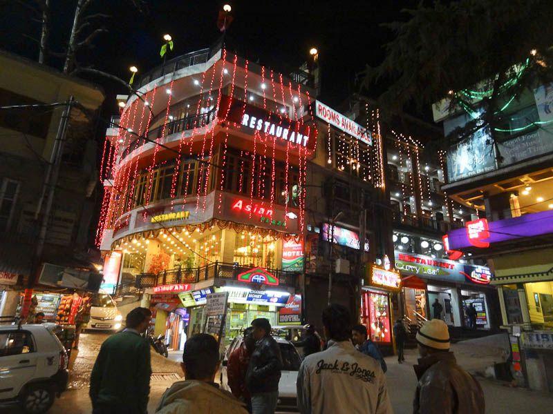 Downtown Dharamsala