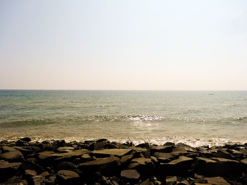 First View Of The Bay Of Bengal