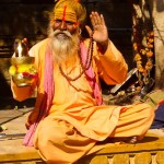 Hindu Holy Man - Taken 20-Mar-2013 - Jaisalmer, India