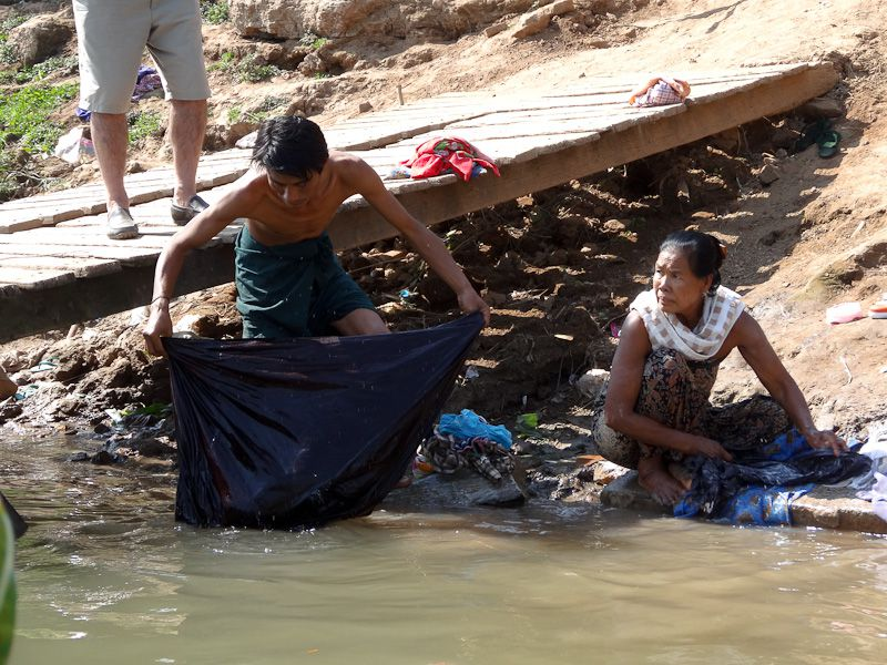 Laundry In The River