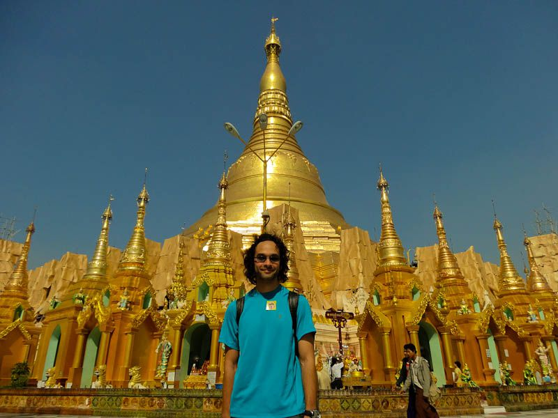 Me At Shwedagon Pagoda