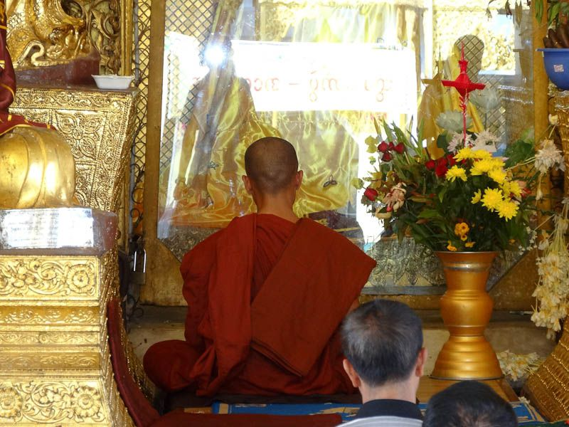 Monk Leading A Prayer