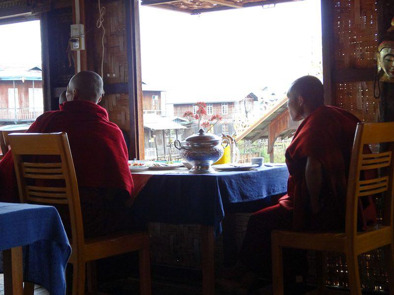 Monks Having Lunch