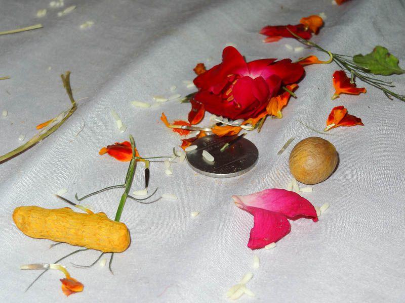 Prayer Ceremony Leftovers