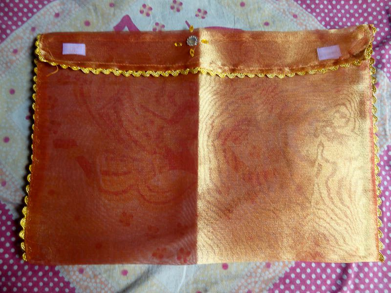 Silk Document Holder