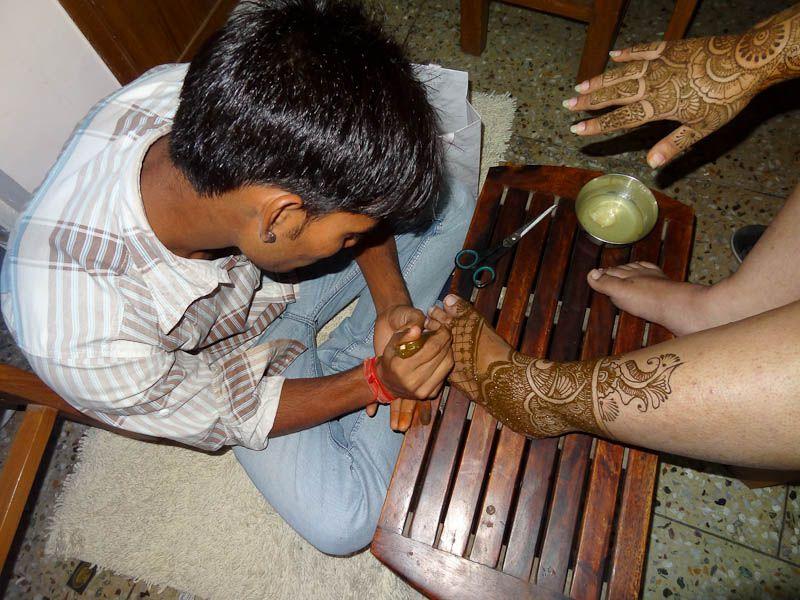 The Bride's Henna