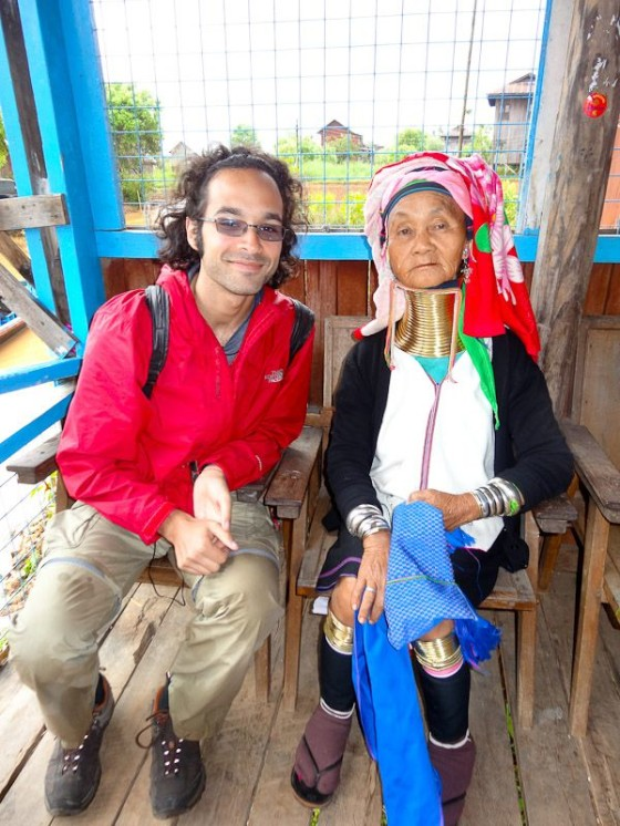 With A Kaya Woman