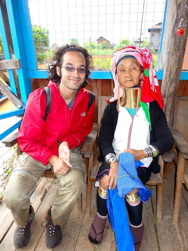 With A Kaya Woman