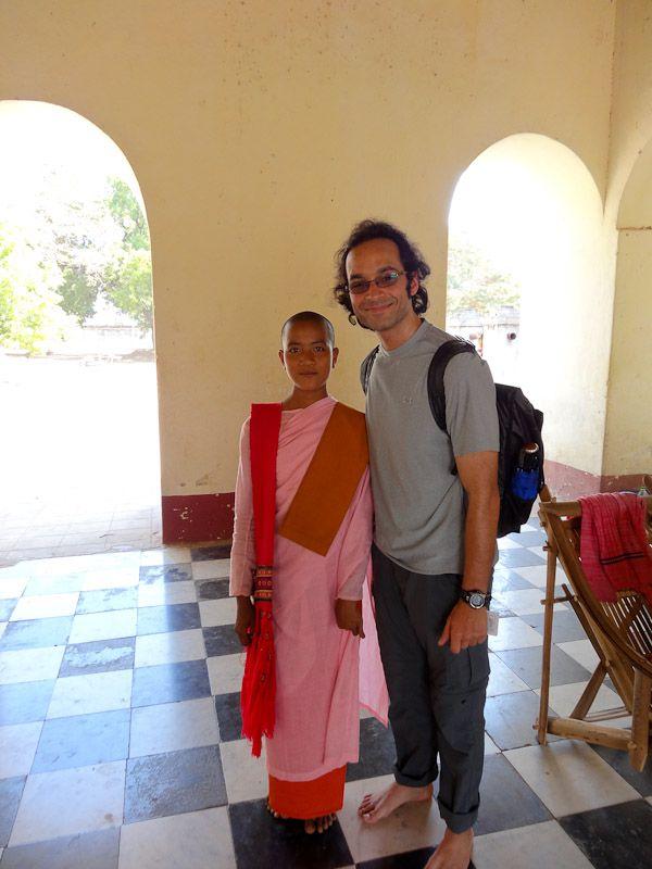 With A Nun